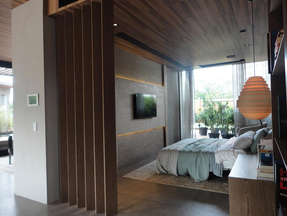 painel ripado, madeira ipê. móveis de madeira